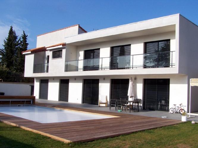 Maison contemporaine à Juvignac
