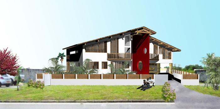 Maison à Port -Gentil - République Gabonnaise : image_projet_mini_17875