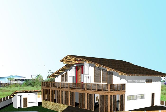 Maison à Port -Gentil - République Gabonnaise : Vue 3