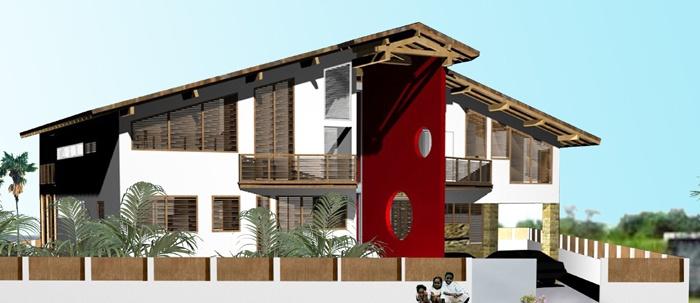Maison à Port -Gentil - République Gabonnaise