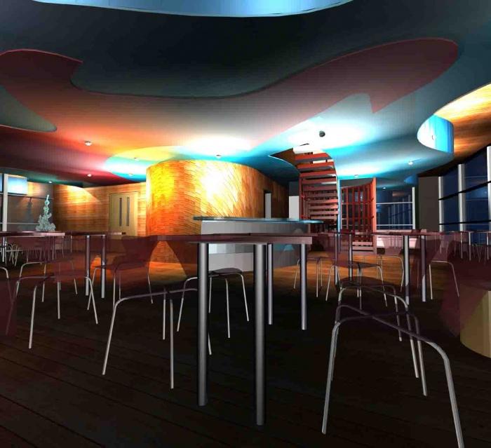Projet de Fin d'études : Le restaurant panoramique
