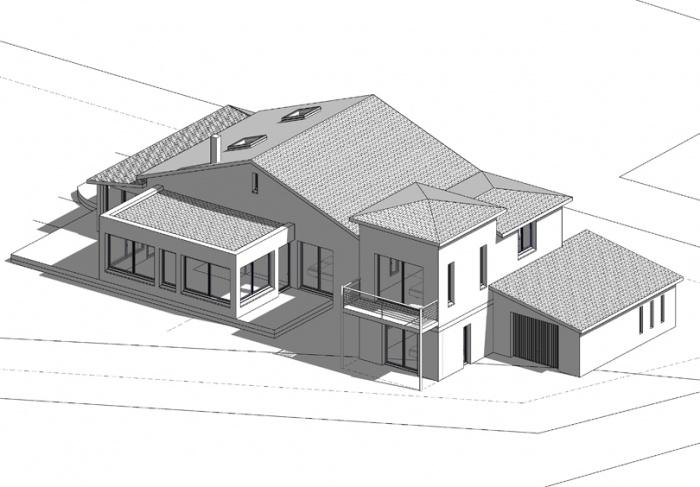 Villa DE CAUX : 20 - 3D3 copie