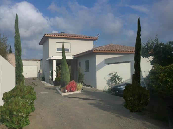 Maison Contemporaine D dans la region de Montpellier