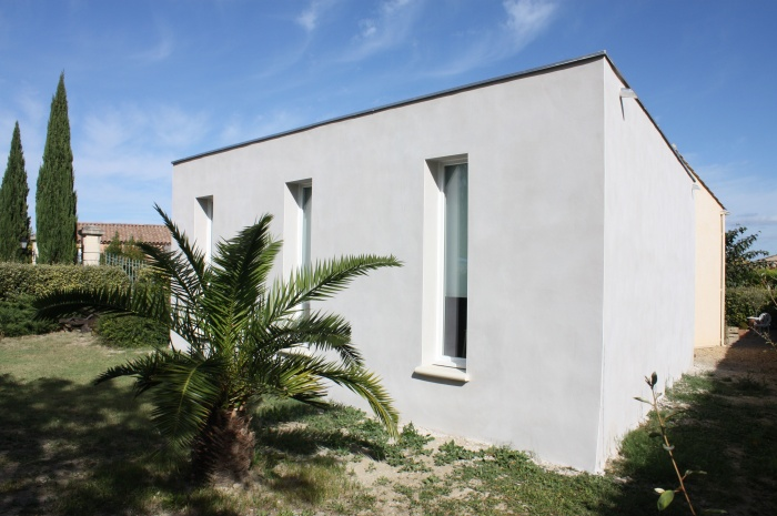 Extension maison individuelle à Aigues-Vives (30)