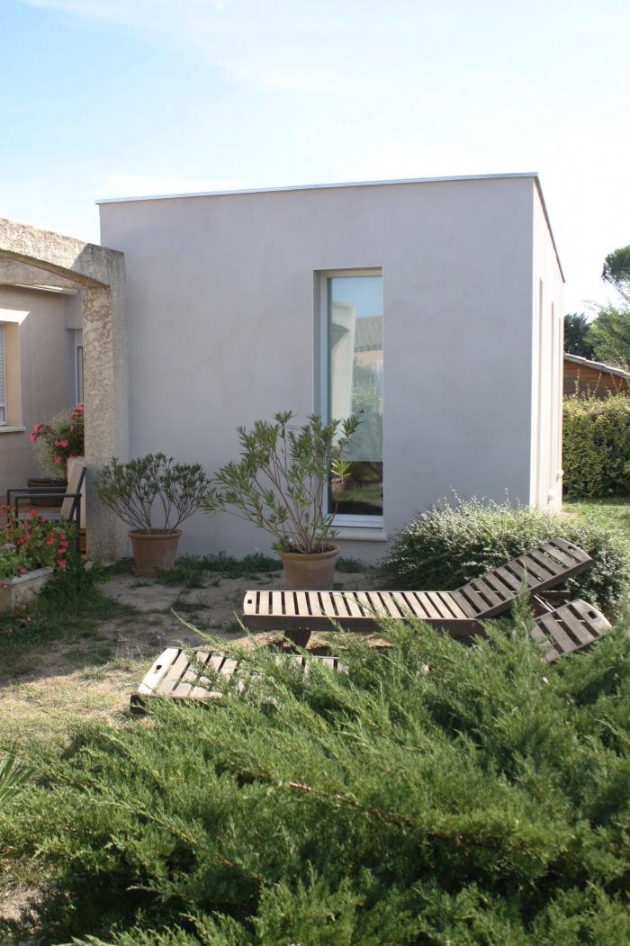 extension maison individuelle aigues vives 30 aigues vives une r alisation de. Black Bedroom Furniture Sets. Home Design Ideas