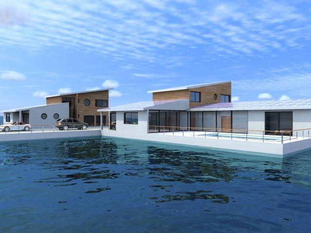 Maison Individuelle Flottante : Maison2a-1