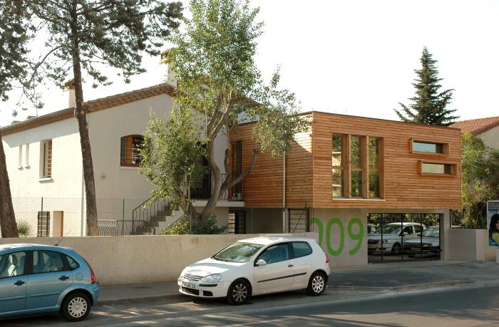 Transformation d'une maison d'habitation en bureaux
