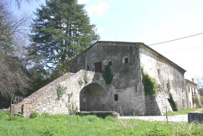 Réhabilitation d'un bâtiment rural : etat ancien extérieure
