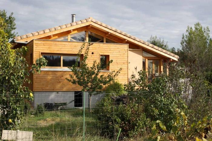 Réhabilitation écologique d'une maison pavillonnaire