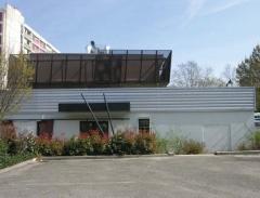 Réaménagement d'un bâtiment existant en centre chorégraphique.