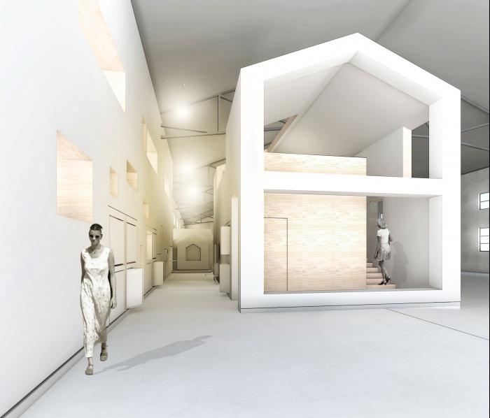 Showroom pour des isolants