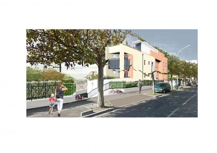Projet de 4 logements à Noisy le sec