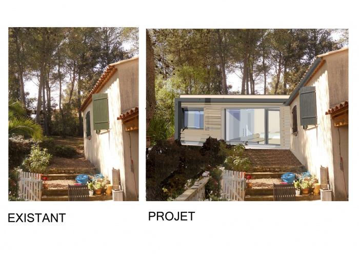 architectes extension ossature bois pour maison individuelle toulouse. Black Bedroom Furniture Sets. Home Design Ideas