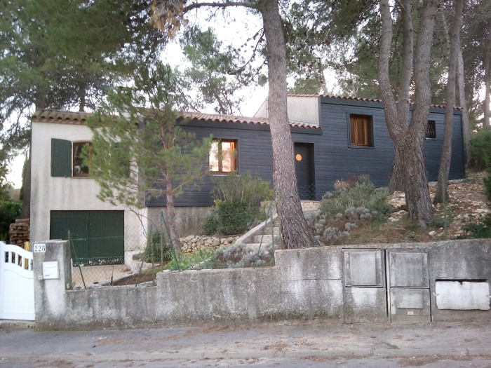 Extension contemporaine d'une Maison dans l'hérault