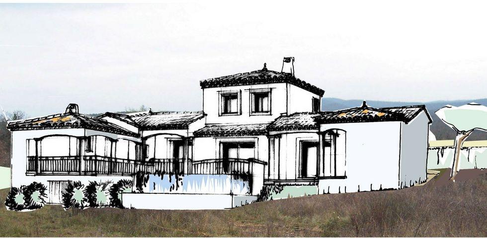 Maison en U